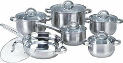 w 001 12 piece induction ready stainless