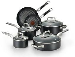 T-Fal/Wearever 10 Piece Professional Cookware Set, Multi, Bl
